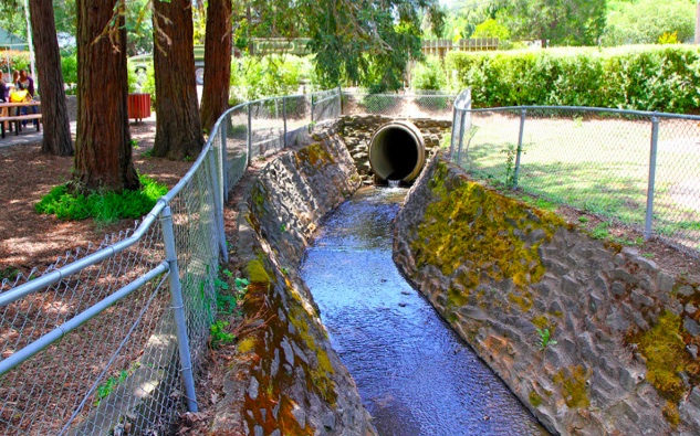 Calder Creek culvert.